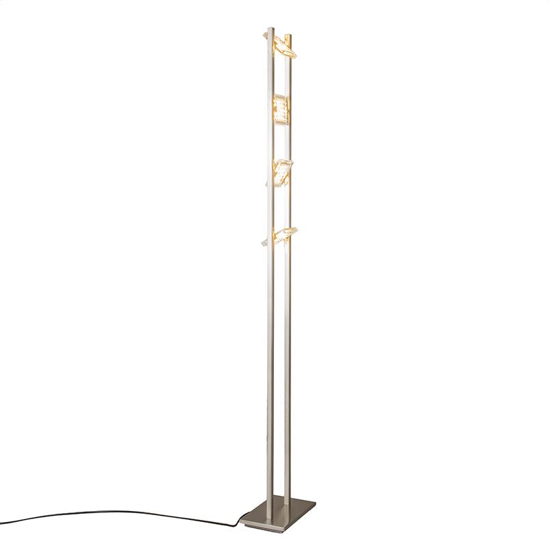 Vloerlamp Escalera staal