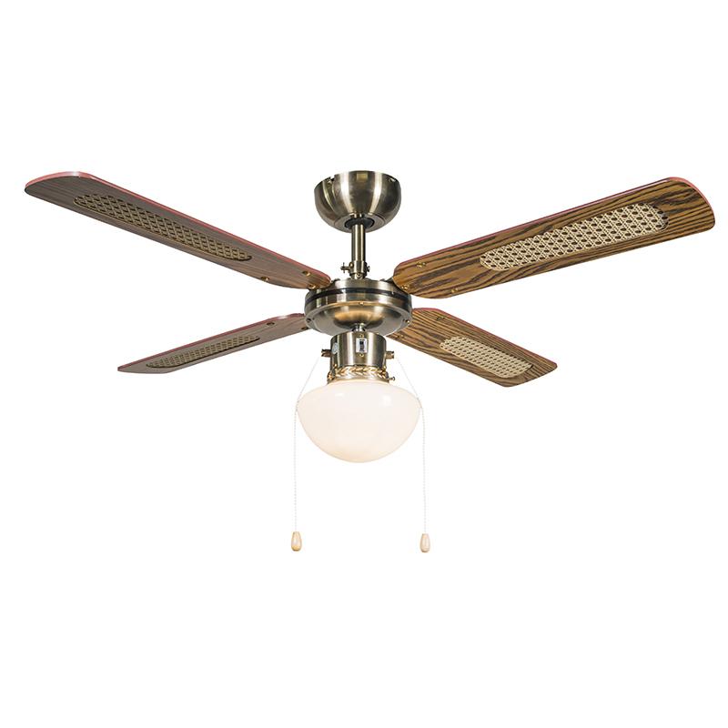 Plafondventilator Wind 42 brons