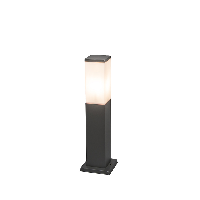 Buitenlamp Malios paal 45cm donkergrijs