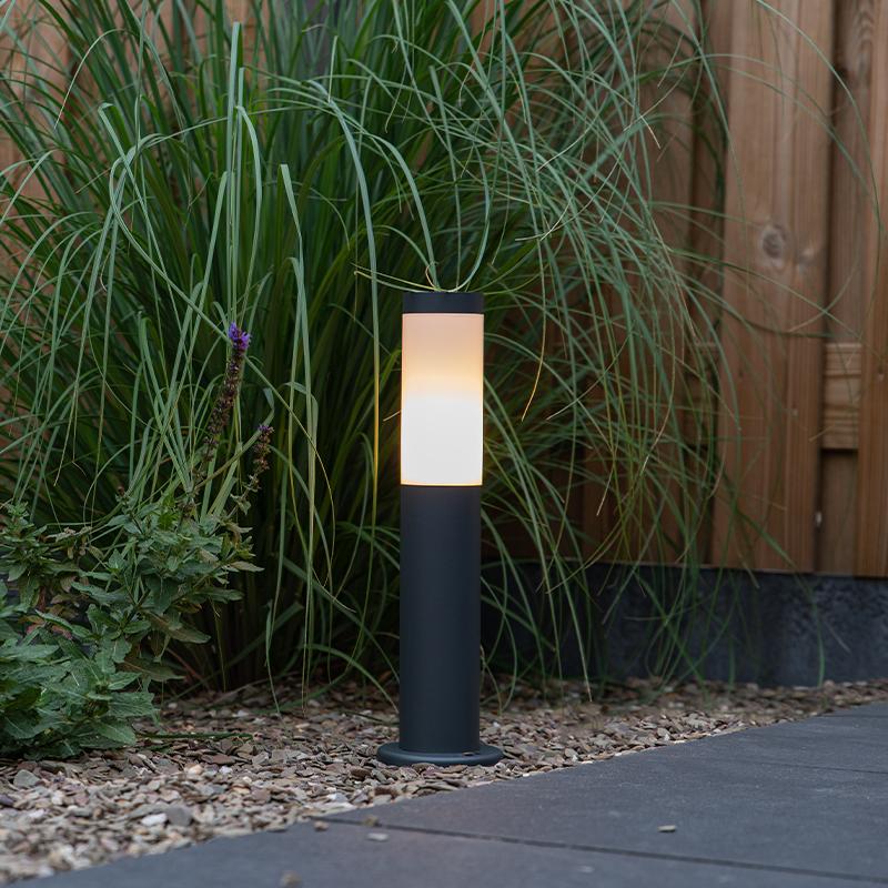 Buitenlamp paal antraciet 45 cm IP44 - Rox