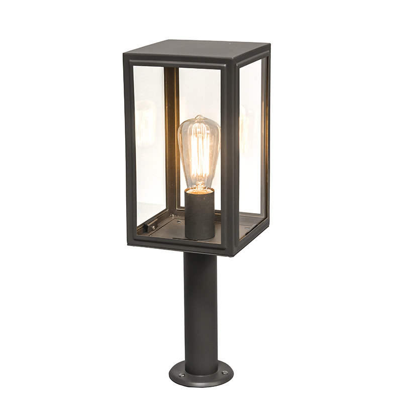 Buitenlamp Paal Donkergrijs 50 Cm - Sutton