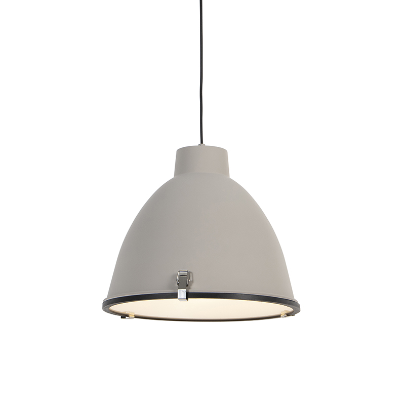 Industriële hanglamp bruin 38 cm - Anteros