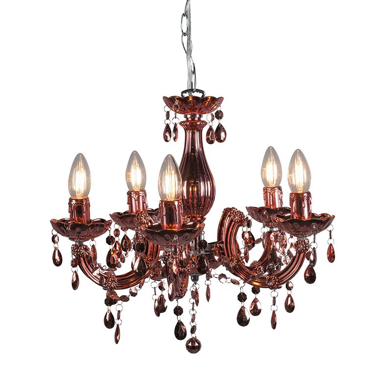 Hanglamp Marie Theresa 5 ros