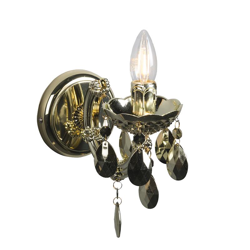 Wandlamp Marie Theresa 1 goud