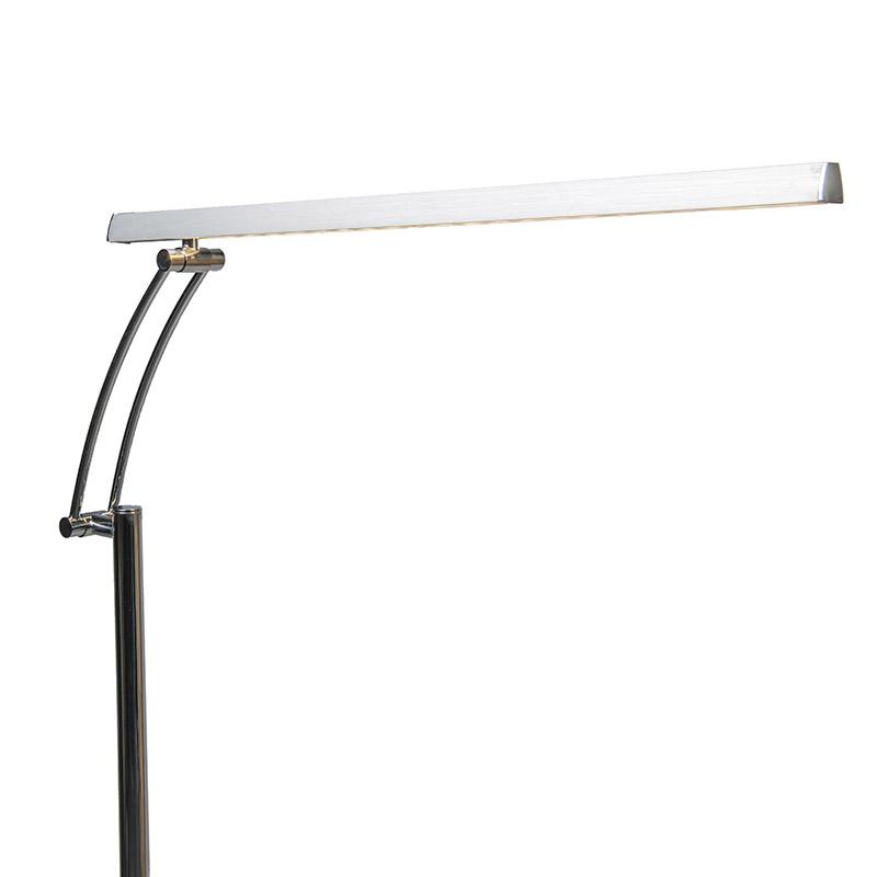 Vloerlamp Berdien Delux chroom
