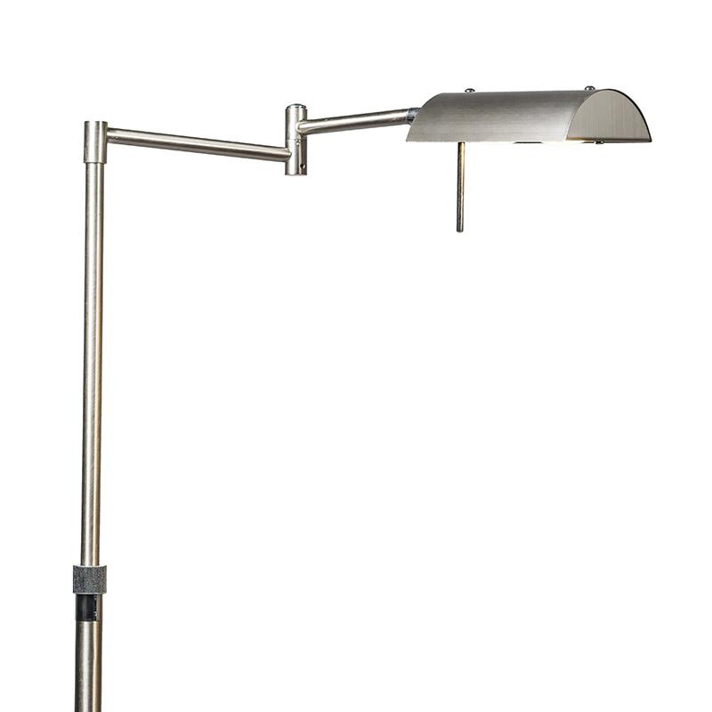 Vloerlamp Sugar 2 staal