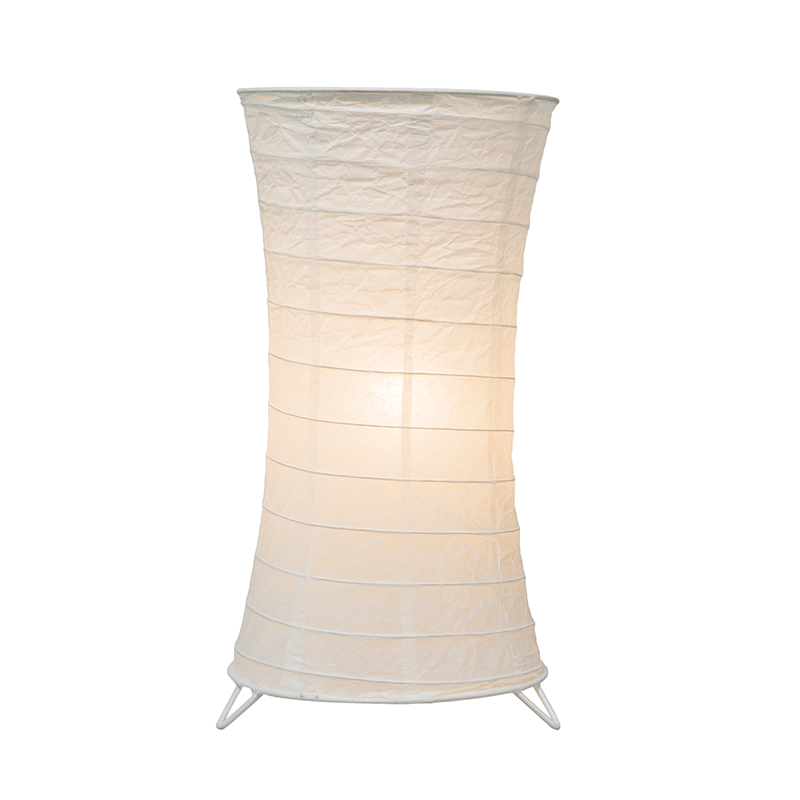 Tafellamp Papel wit