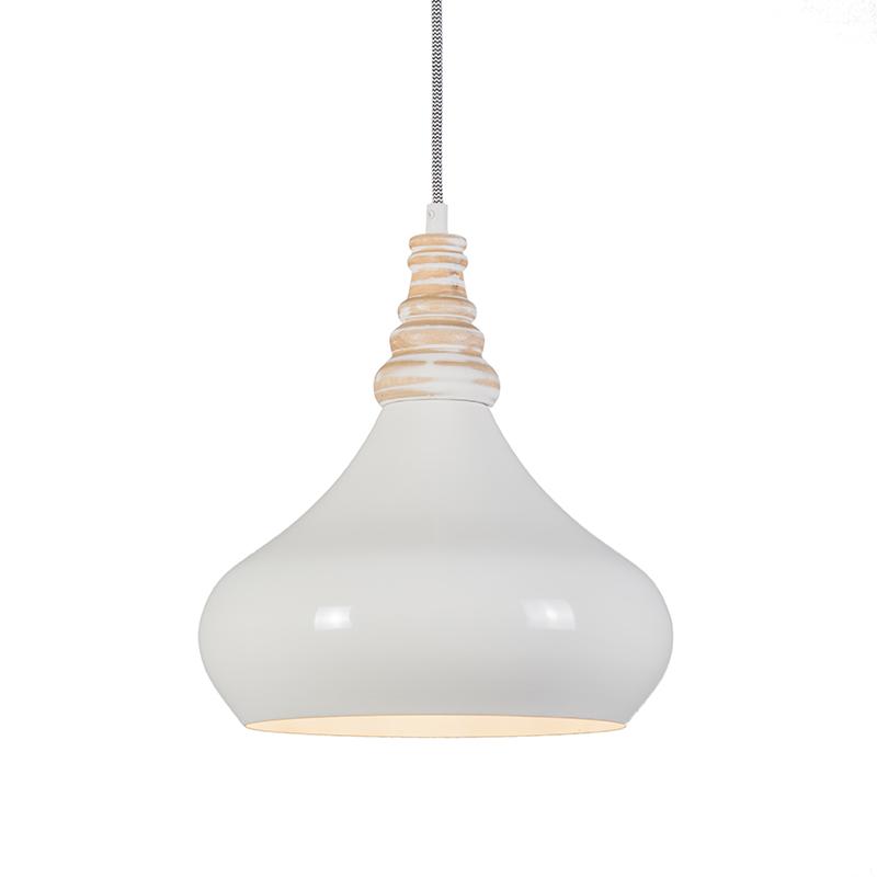 Hanglamp Maple creme