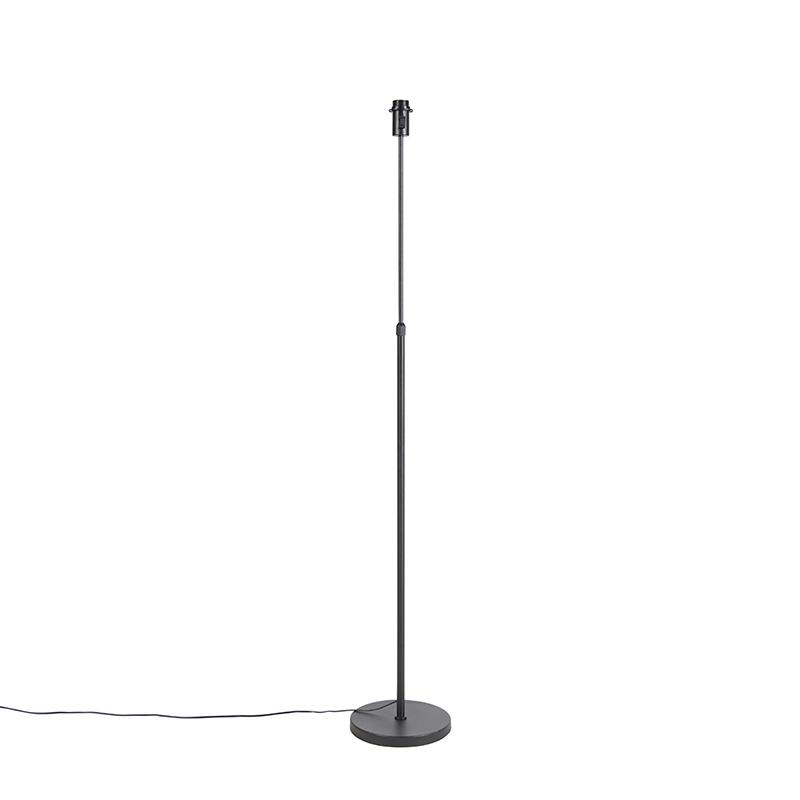 Vloerlamp zwart verstelbaar - Parte