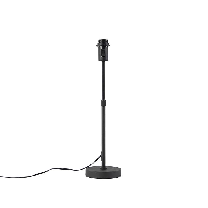 Tafellamp zwart verstelbaar Parte