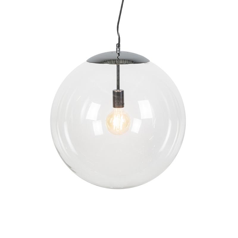 Hanglamp Ball 50 helder chroom