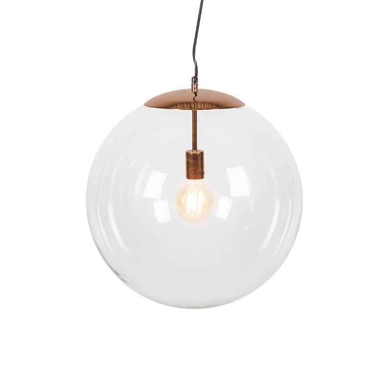 Moderne hanglamp koper 50 cm - Ball