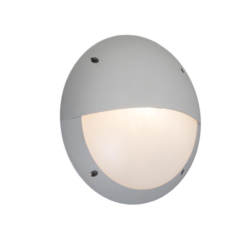 Wandlamp grijs IP65 - Lucia