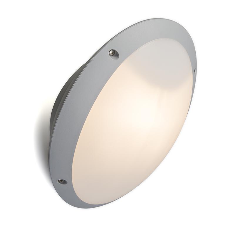 Wandlamp grijs IP65 verstelbaar - Remi