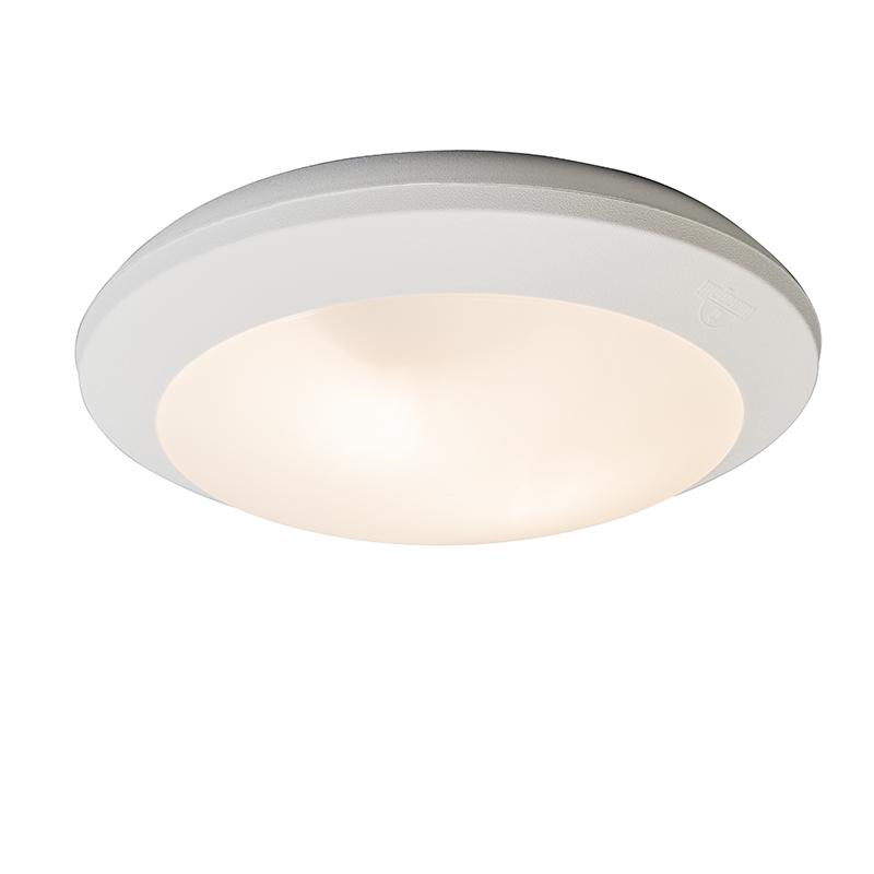 Stropné svietidlo biele s pohybovým senzorom IP65 - Umberta