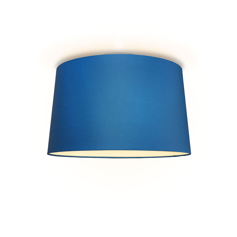 Plafonniere Ton rond 50 blauw