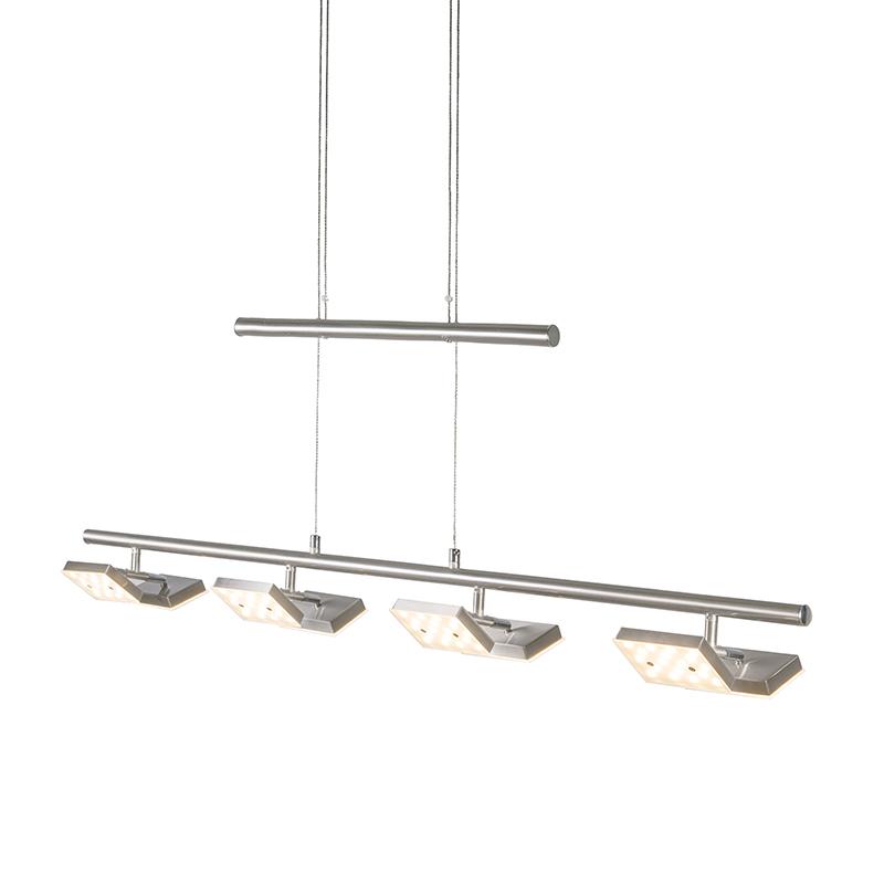 Hanglamp Quatre staal
