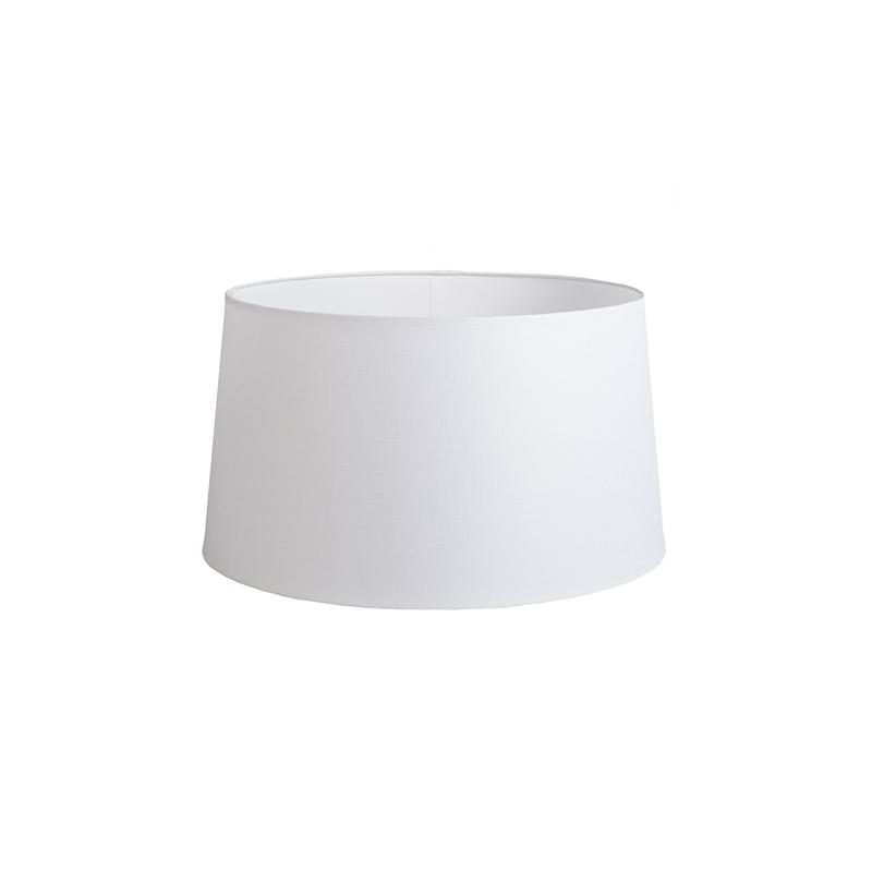 Kap 45cm rond DS E27 linnen wit