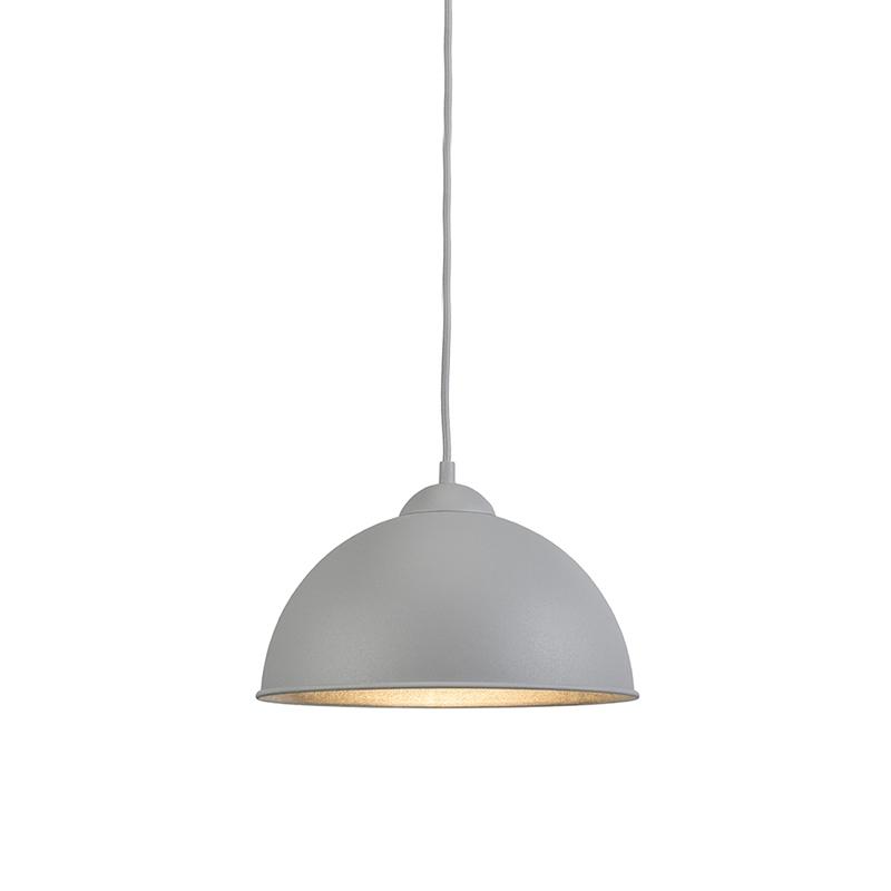 Moderne ronde hanglamp grijs - Magna Basic