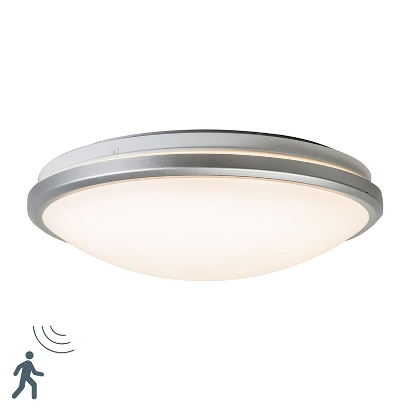 Sufit jasnoszary wraz z diodą LED i czujnikiem ruchu - Captur