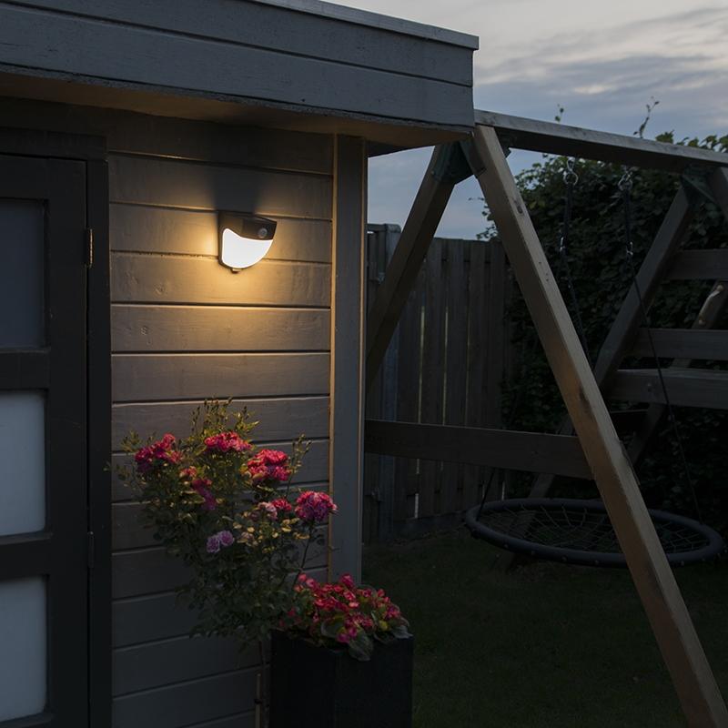 Solar LED buitenlamp Scout donkergrijs
