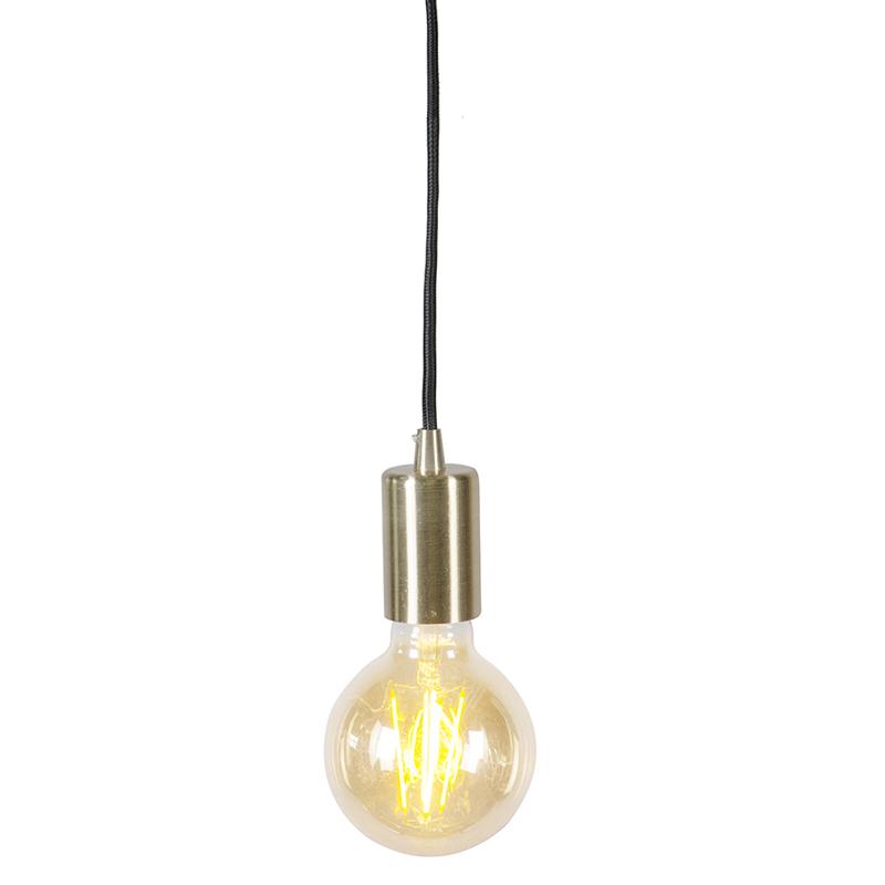 Nowoczesna lampa wisząca złota - Facil 1