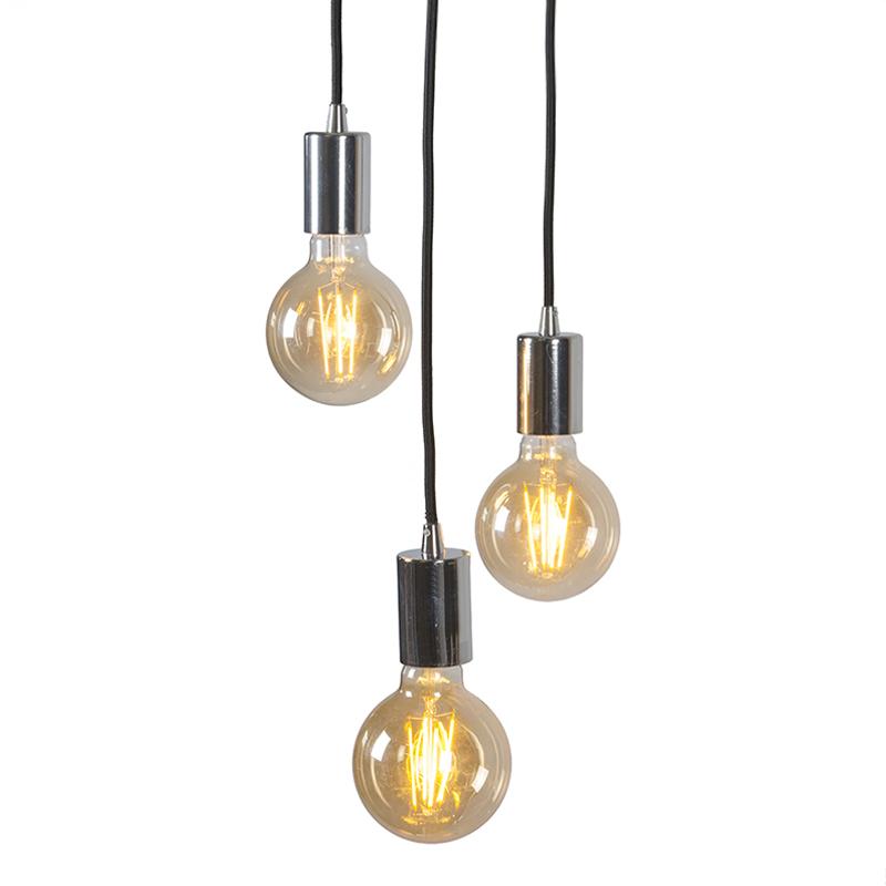 Hanglamp Facil 3 chroom
