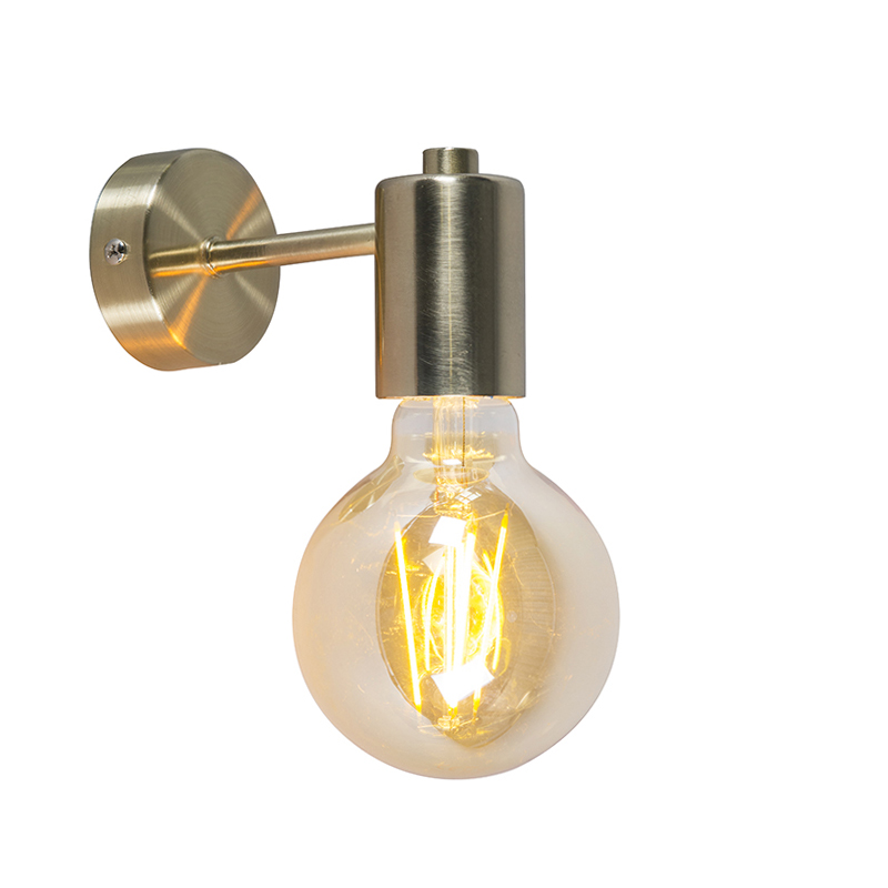 Wandlamp Facil goud