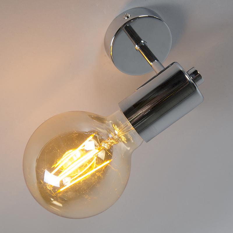 Wandlamp Facil chroom