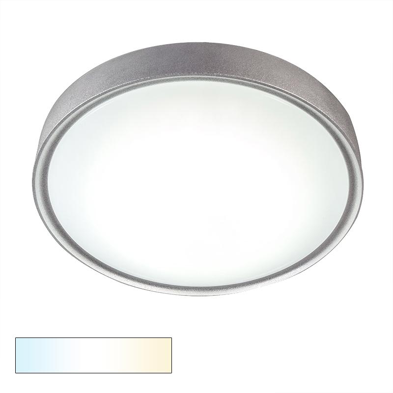 Plafonniere Avanti II 18W LED zilver