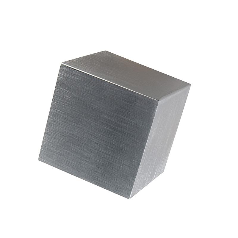 Nowoczesny kinkiet aluminium - Cube