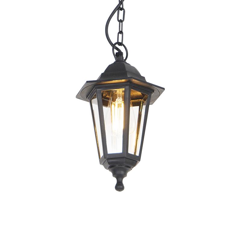 Buitenhanglamp zwart - New Haven