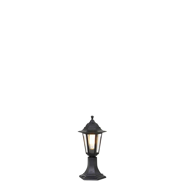 Romantyczna lampa zewnętrzna czarna 42 cm IP44 - New Haven