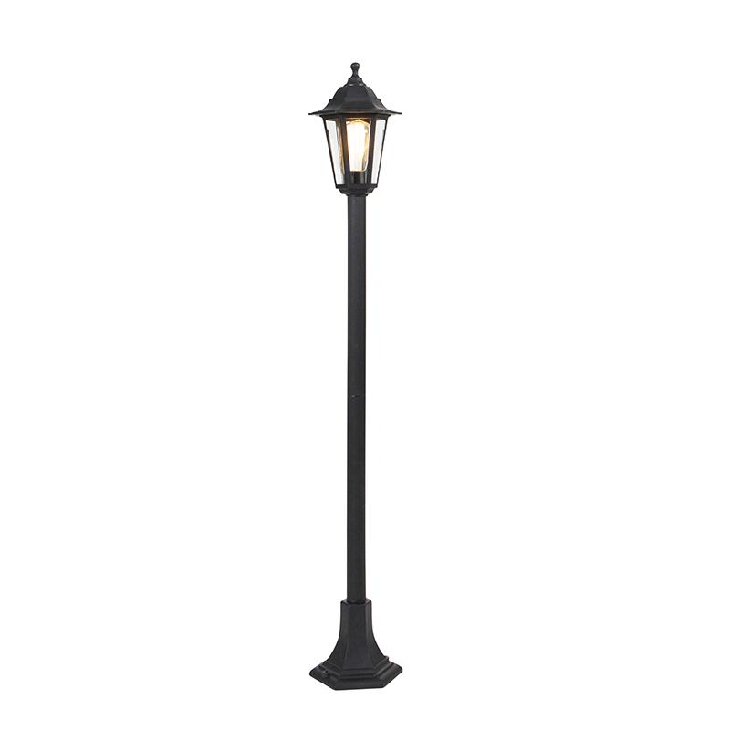 Klassieke lantaarn zwart - New Haven
