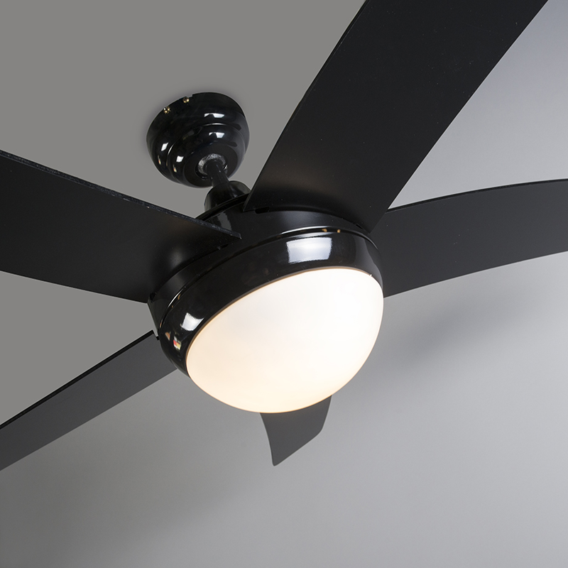 Plafondventilator Cool 52 zwart