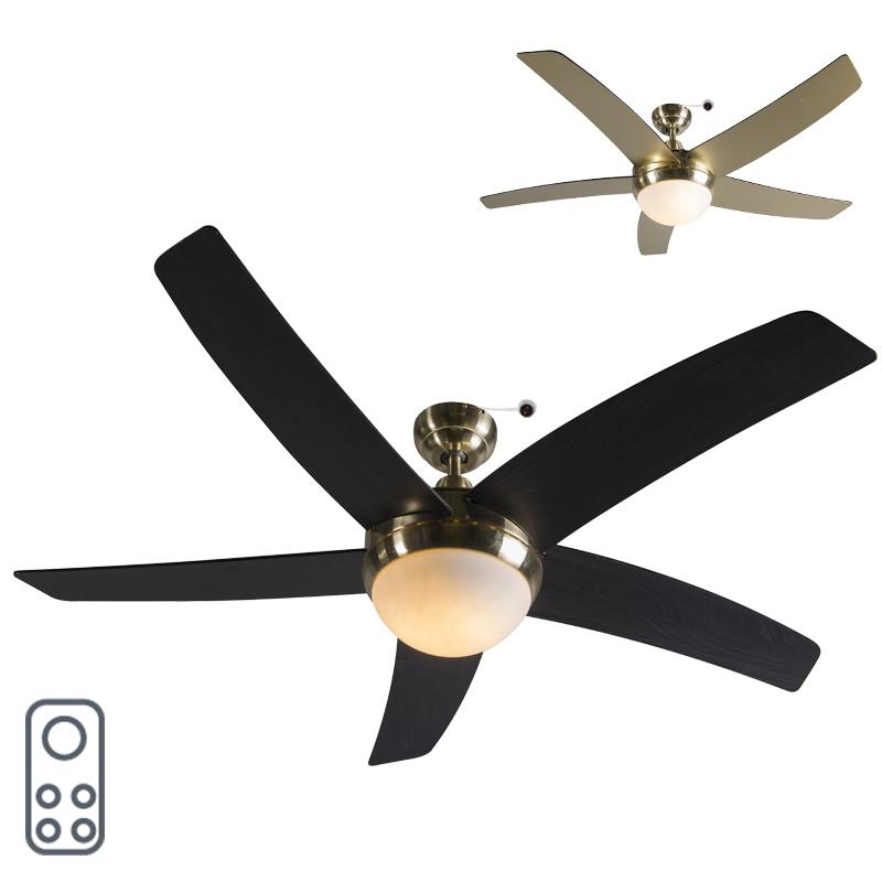 Plafondventilator Cool 52 goud