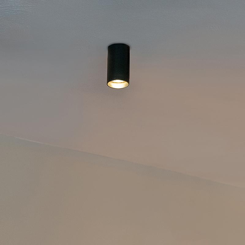 Moderne spot zwart - Tuba 1