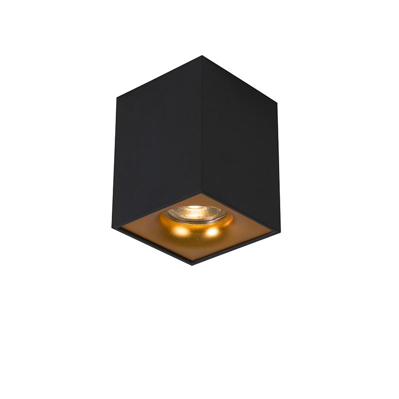 Spot Quba delux zwart met goud