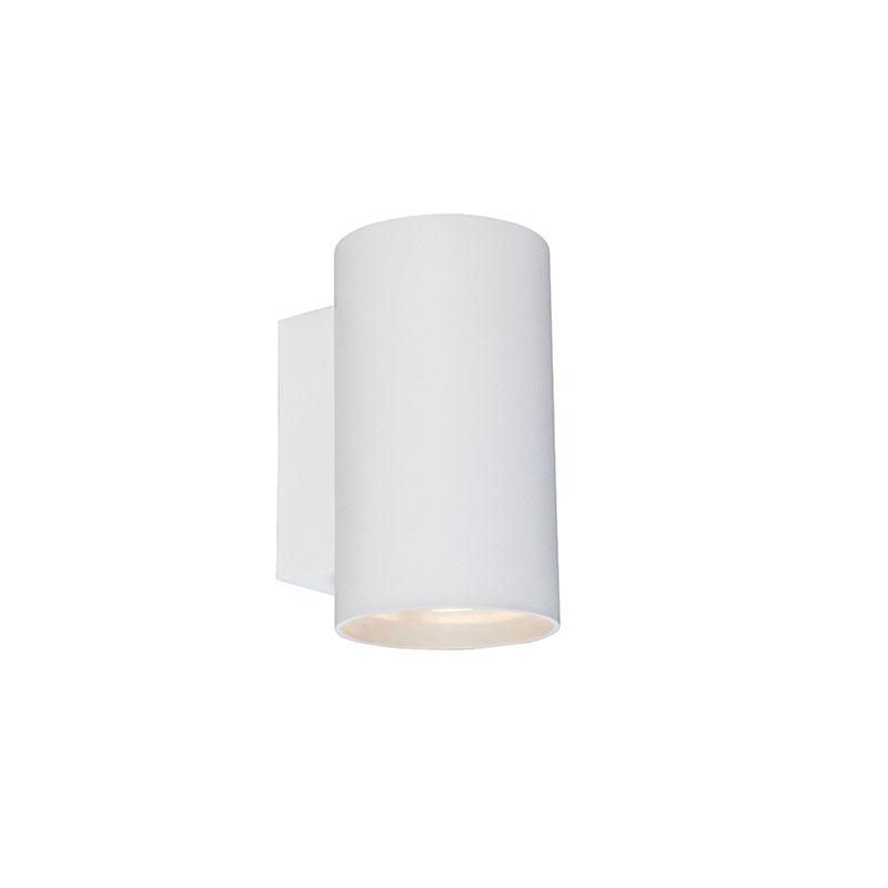 Moderne wandlamp rond wit - Sandy