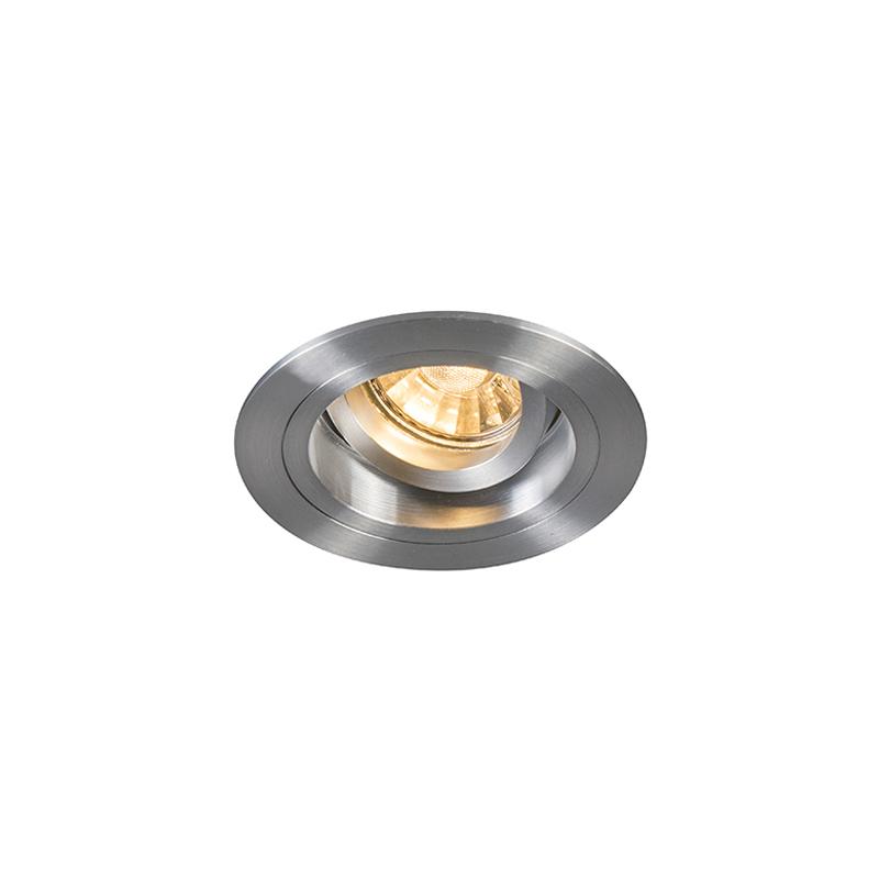 Oprawa do wbudowania okrągła aluminium regulowana - Chuck
