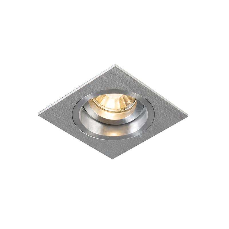 Oprawa do wbudowania kwadratowa aluminium regulowana - Chuck