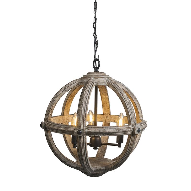 Hanglamp Marise 3 grijs
