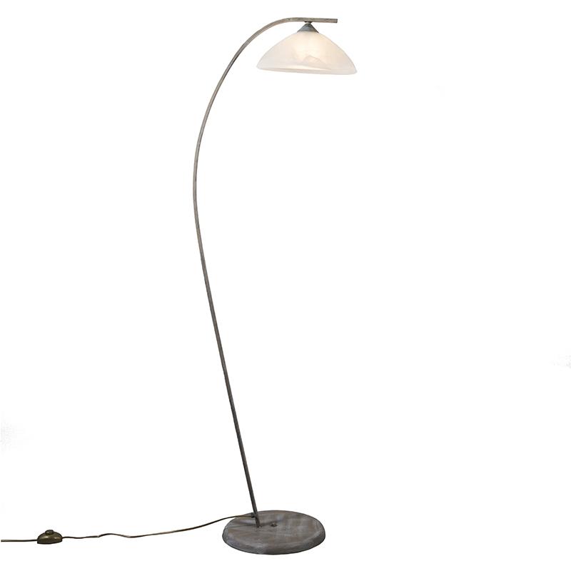 Vloerlamp Scorze 1 antiek grijs
