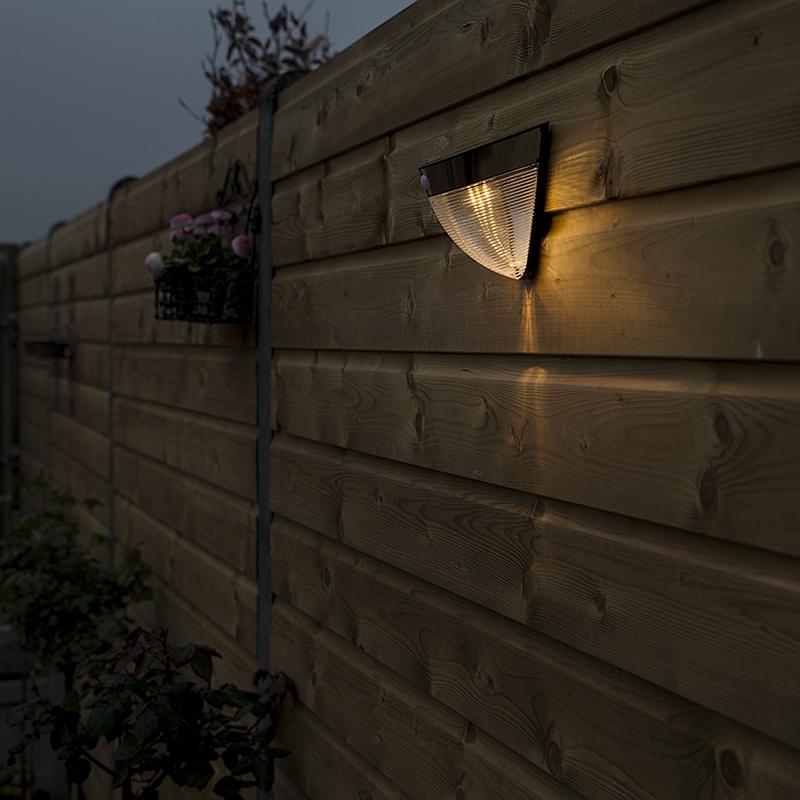 Buitenlamp Solara LED zwart