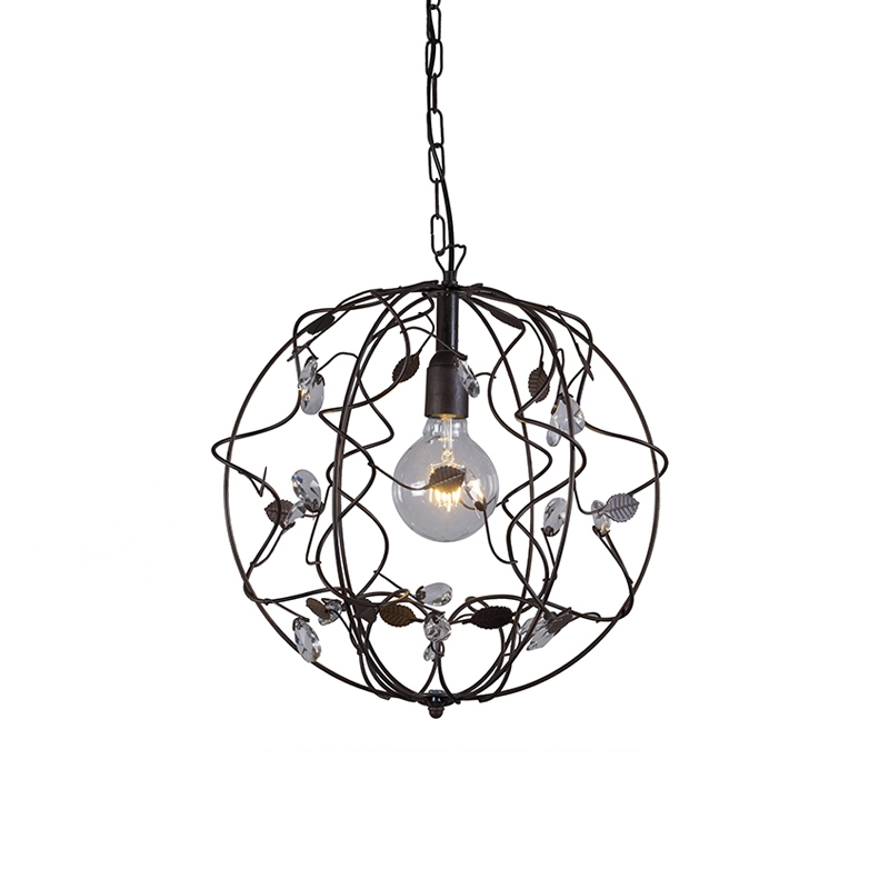 Hanglamp Bola 1 Roest