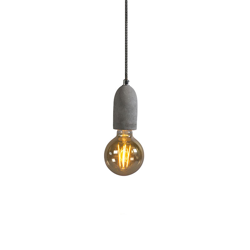 Industrialna lampa wisząca beton - Cava 1