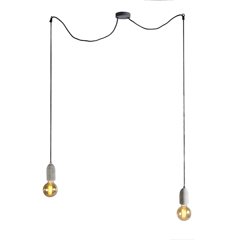 Industri�le hanglamp beton - Cava 2