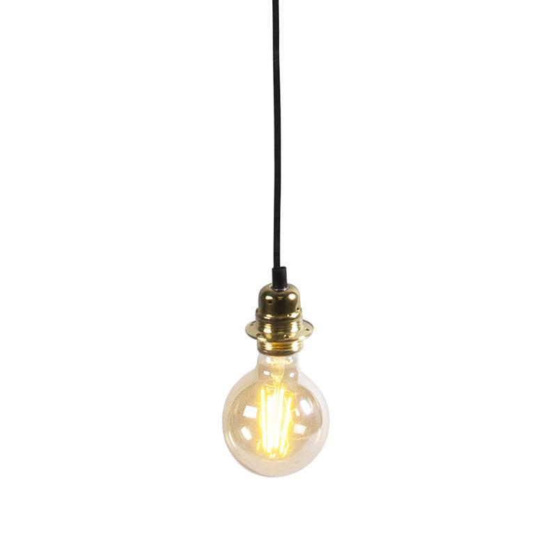 Nowoczesna lampa wisząca złota - Cava 1