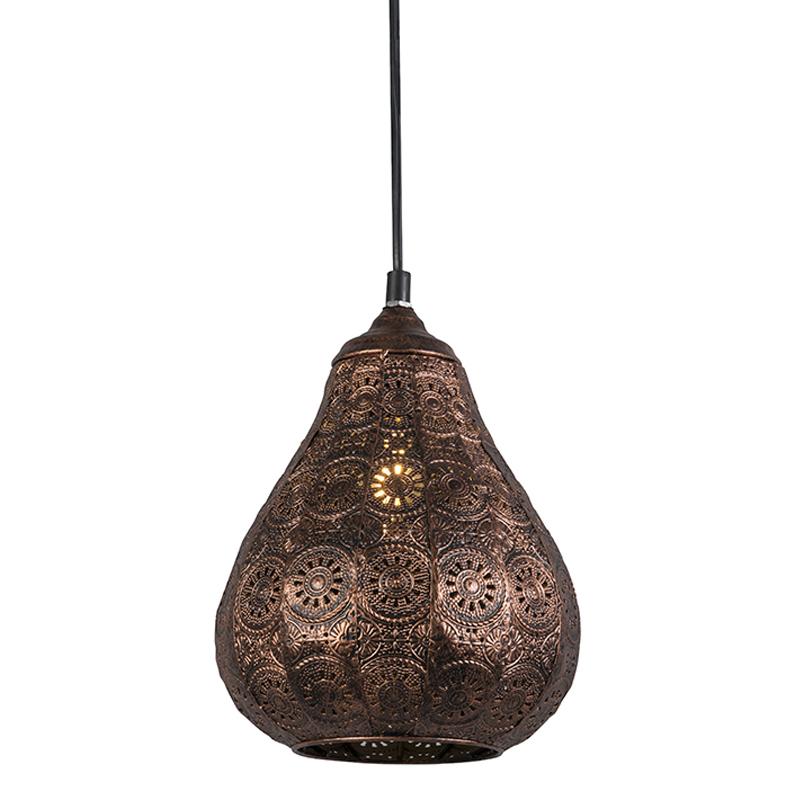 Orientalna lampa wisząca miedź - Billa
