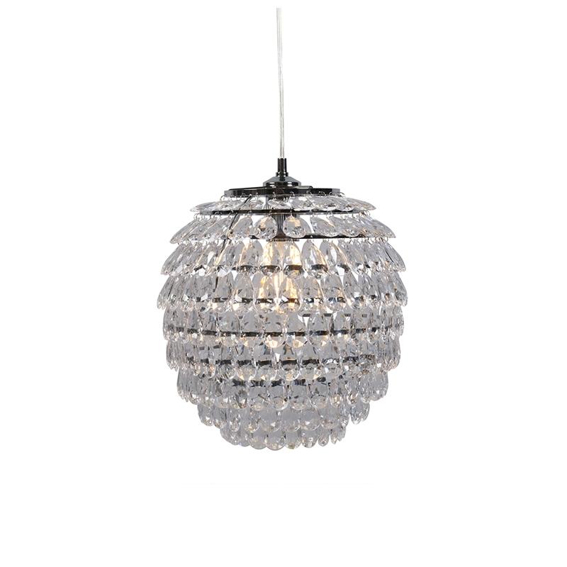 Art Deco Hanglamp Staal - Bling